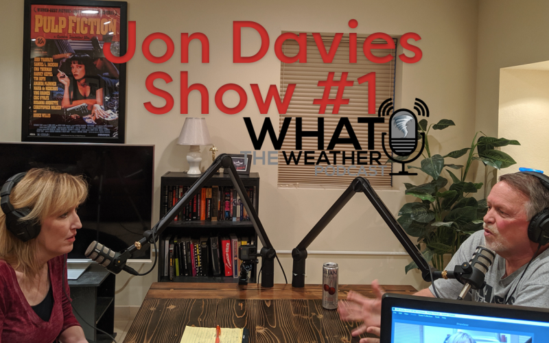 What The Weather Podcast Show #1 Jon Davies